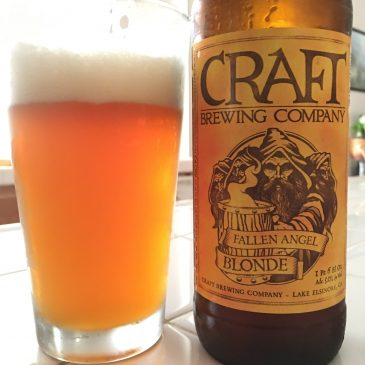 Craft Brewing Company Fallen Blonde Ale