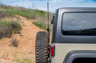 Cobra 75 WX ST and Mopar Jeep Wrangler JK Antenna Kit Install